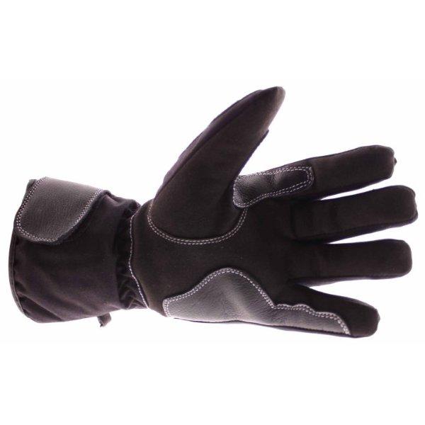 Frank Thomas 502 R Black Motorcycle Gloves Palm