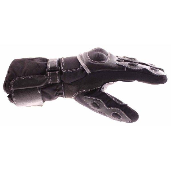 Frank Thomas 502 R Black Motorcycle Gloves Thumb side