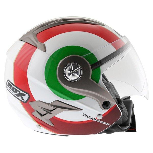 Box JZ-1 Urban Italia Open Face Motorcycle Helmet Right Side