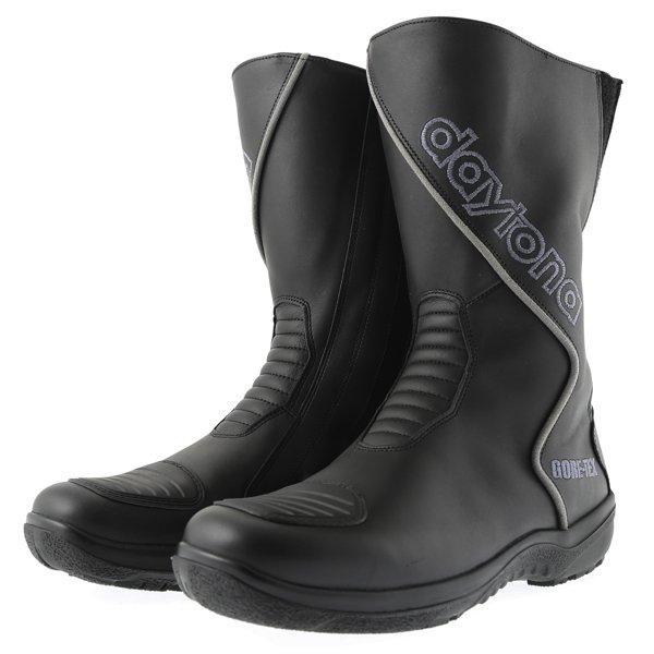 Daytona Gator Goretex Black Waterproof Motorcycle Boots Pair