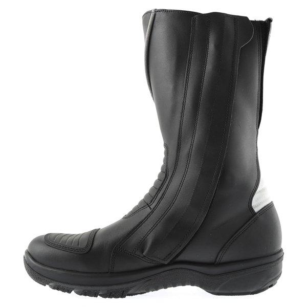 Daytona Gator Goretex Boots Black Waterproof Motorcycle Boots leg