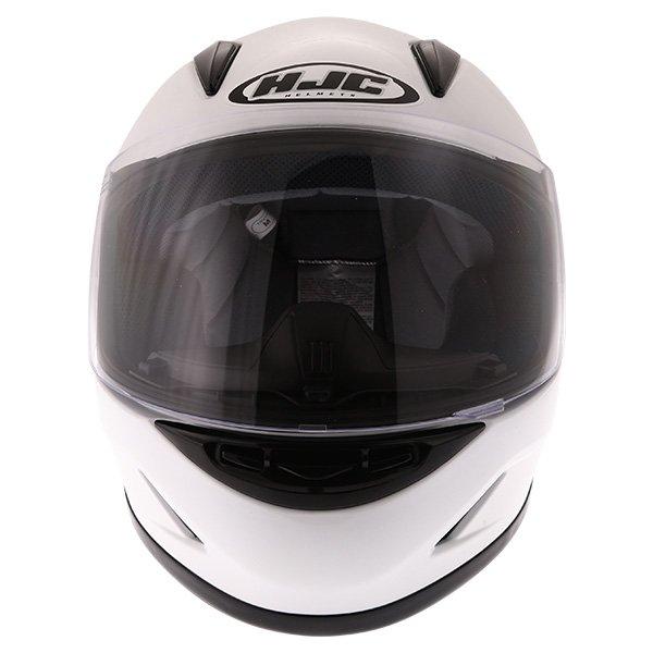 HJC CL-Y White Ladies Full Face Motorcycle Helmet Front