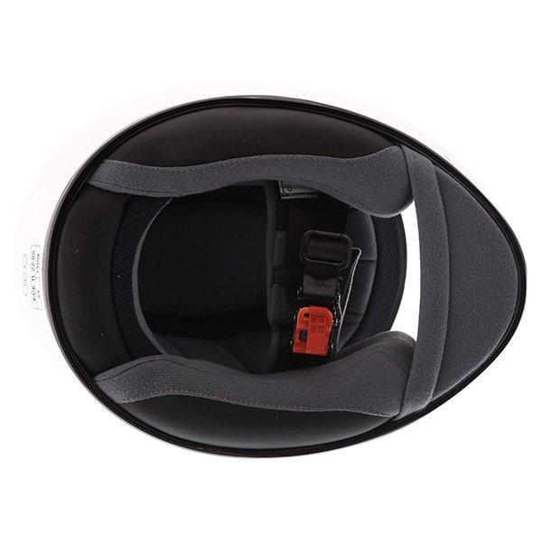 HJC CL-Y White Ladies Full Face Motorcycle Helmet Inside