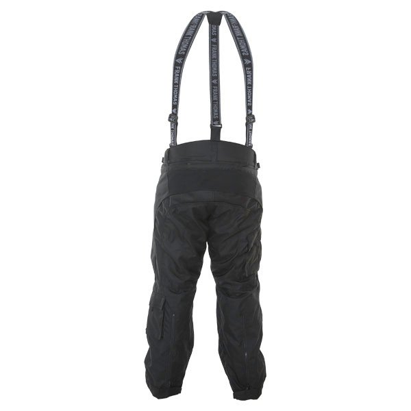 Frank Thomas George 1025 Mens Black Textile Motorcycle Pants Rear