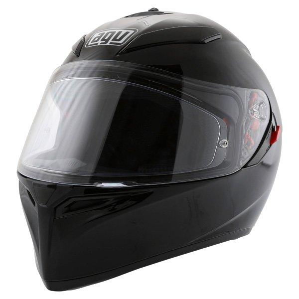 AGV K3 SV Black Full Face Motorcycle Helmet Front Left