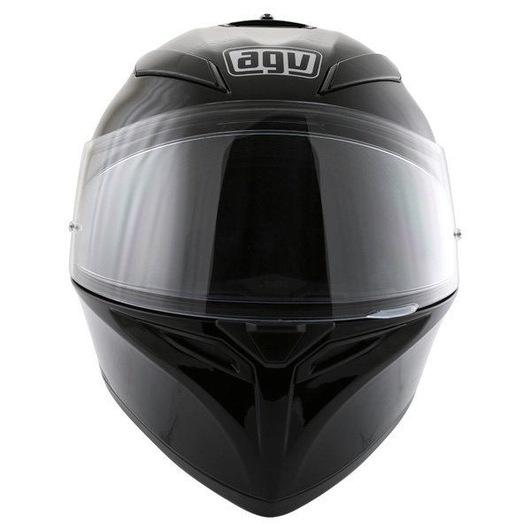 AGV K3 SV Black Full Face Motorcycle Helmet Front