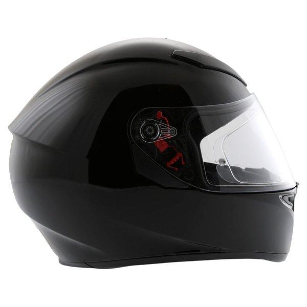 AGV K3 SV Black Full Face Motorcycle Helmet Right Side