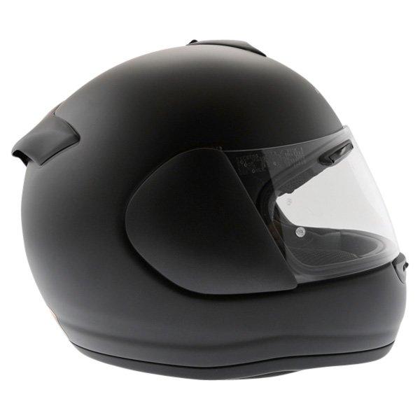 Arai Axces II Frost Black Full Face Motorcycle Helmet Right Side
