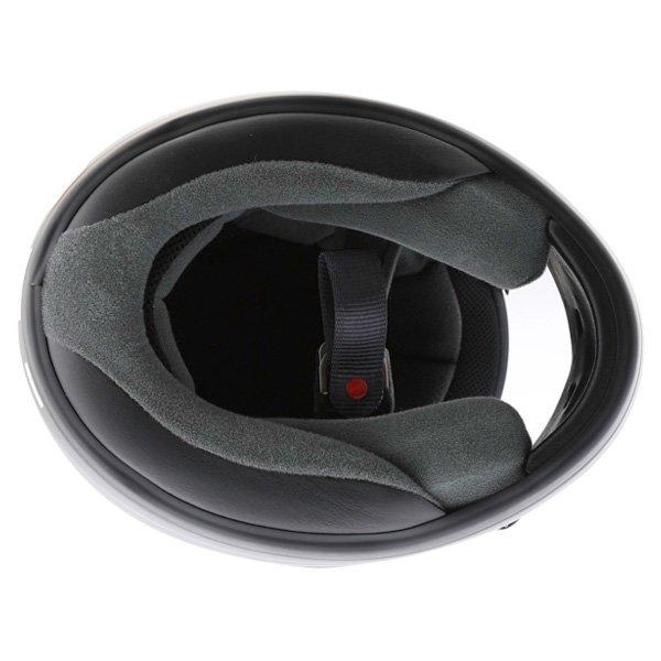 Arai Axces II Frost Black Full Face Motorcycle Helmet Inside