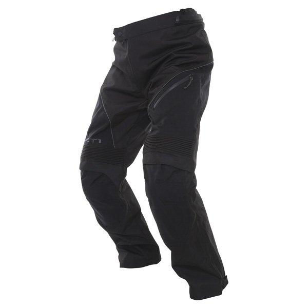 Alpinestars Ast-1 2014 Mens Black Textile Motorcycle Pants Riding position