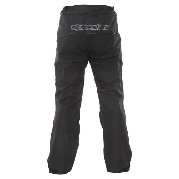 Alpinestars Ast-1 2014 Mens Black Textile Motorcycle Pants Rear