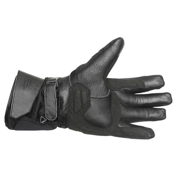 Frank Thomas 503 Black Motorcycle Gloves Palm