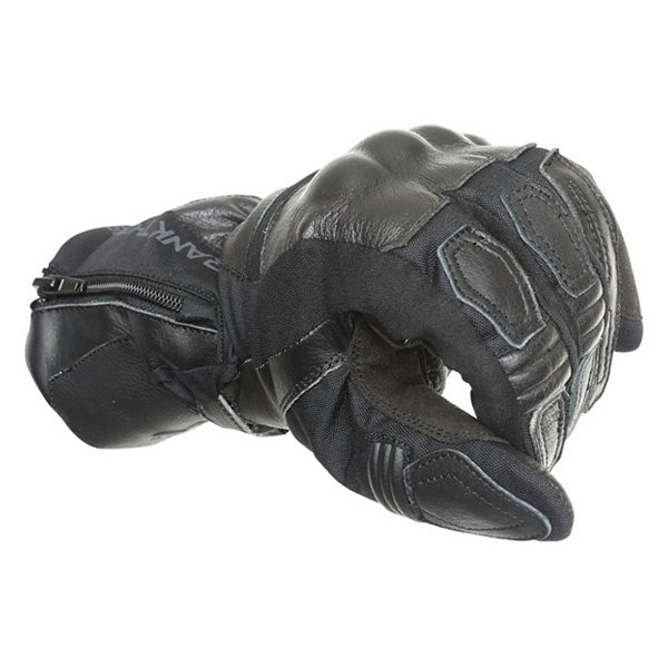 Frank Thomas 503 Black Motorcycle Gloves Knuckle