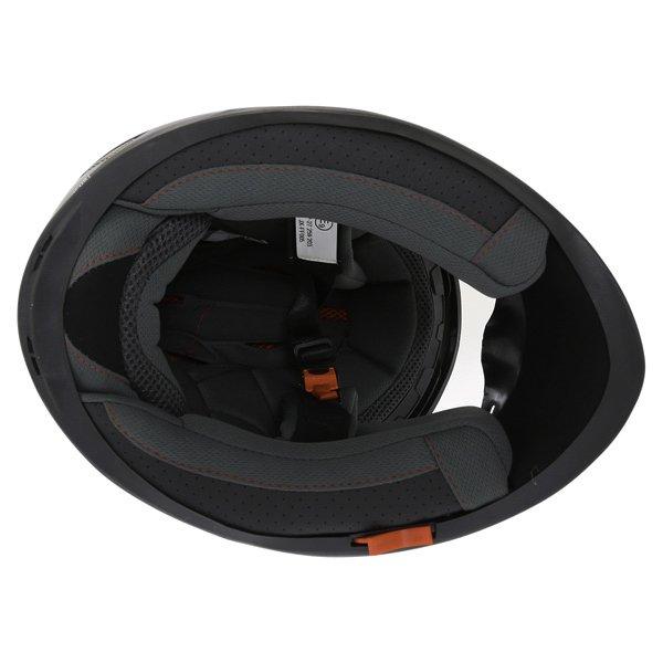 BKS Plain 2014 Black Full Face Motorcycle Helmet Inside