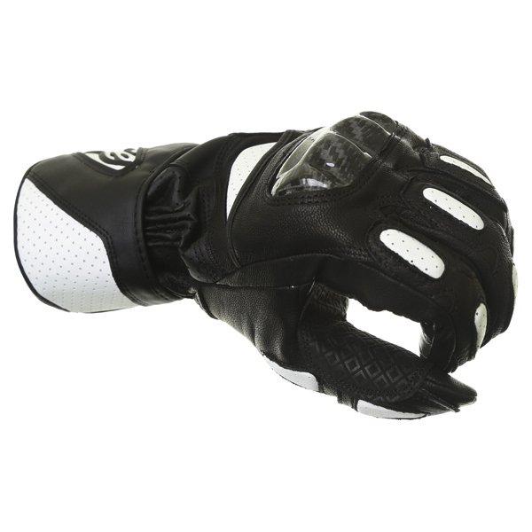 Alpinestars SP-2 Black White Motorcycle Gloves Knuckle