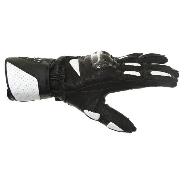 Alpinestars SP-2 Black White Motorcycle Gloves Thumb side