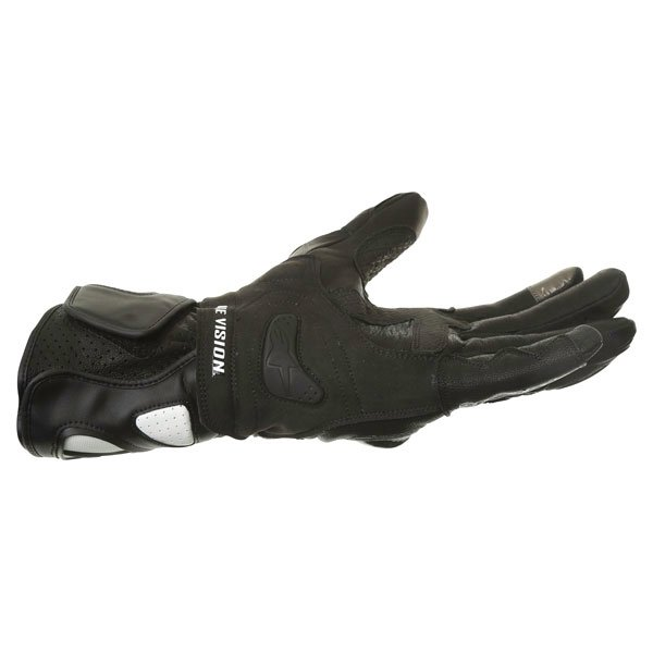 Alpinestars SP-2 Black White Motorcycle Gloves Little finger side