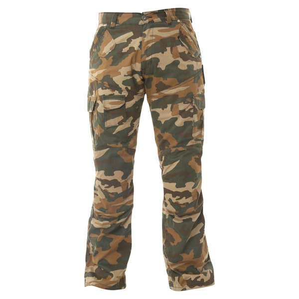 007 Cargo Jeans Camo Red Route