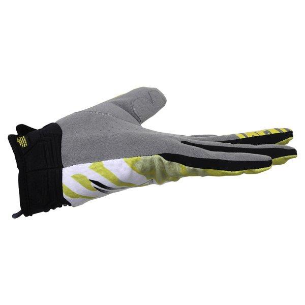 Alpinestars Racer Yellow Black Motocross Gloves Little finger side