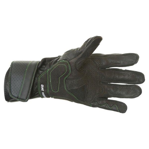 Alpinestars SP-M8 Monster Black Green Motorcycle Glove Palm