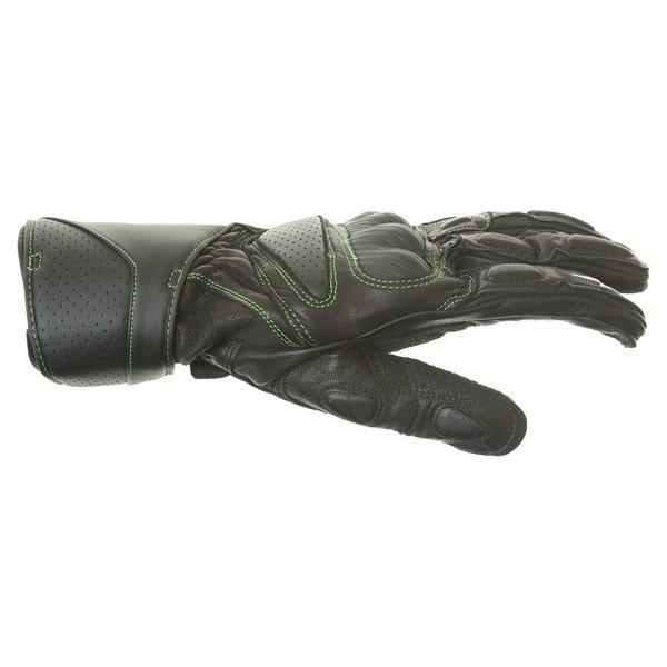 Alpinestars SP-M8 Monster Black Green Motorcycle Glove Thumb side