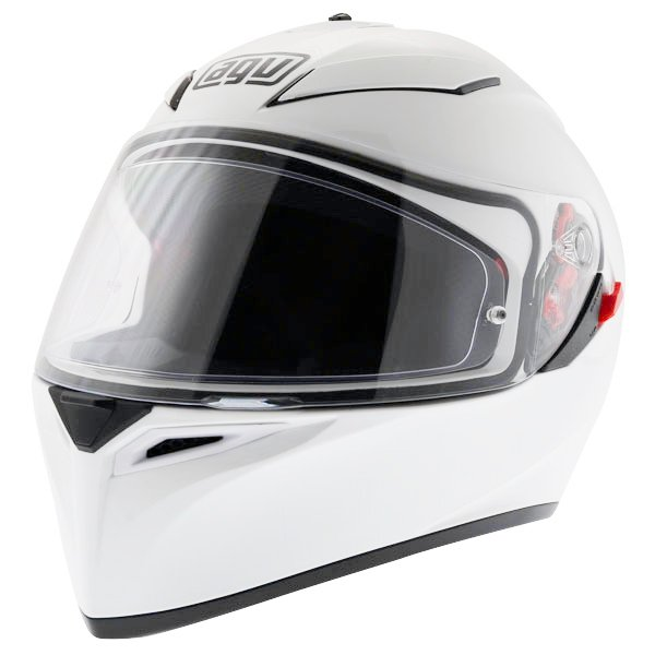 AGV K3 SV White Full Face Motorcycle Helmet Front Left