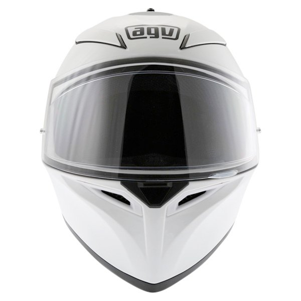 AGV K3 SV White Full Face Motorcycle Helmet Front