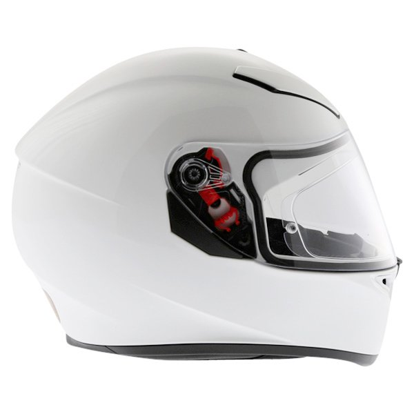 AGV K3 SV White Full Face Motorcycle Helmet Right Side