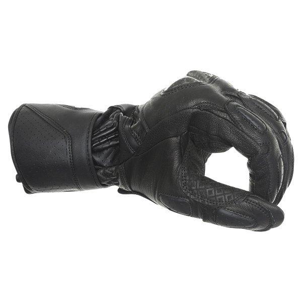 Alpinestars SP-M3 Black Green Motorcycle Gloves Knuckle