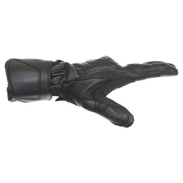 Alpinestars SP-M3 Black Green Motorcycle Gloves Thumb side