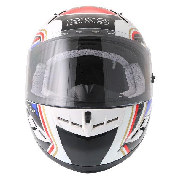 BKS 8 Flag Series Union Jack Full Face Motorcycle Helmet Front