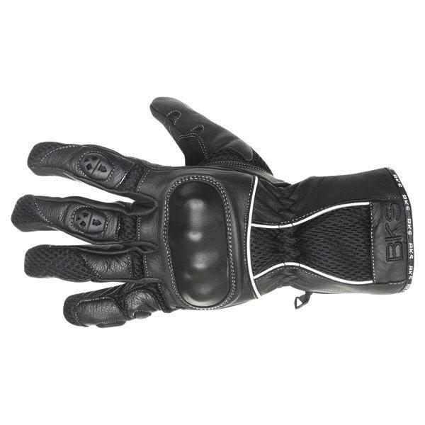 BKS Persica Black Motorcycle Gloves Back