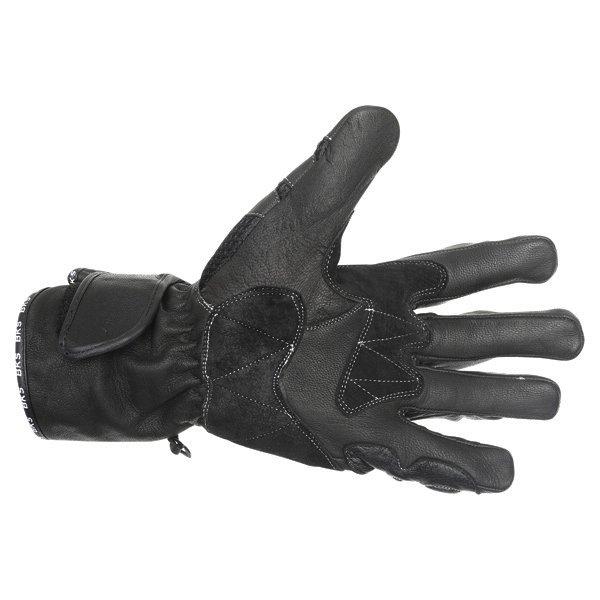 BKS Persica Black Motorcycle Gloves Palm