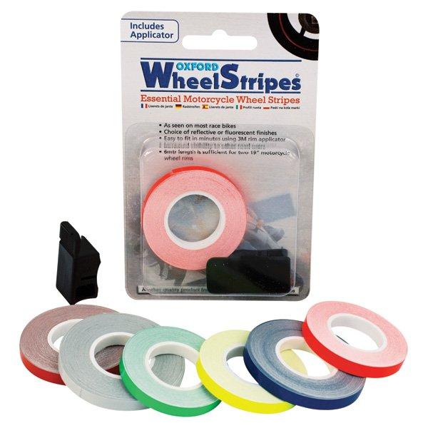 Wheel Stripes Relective Blue Wheel Stripes