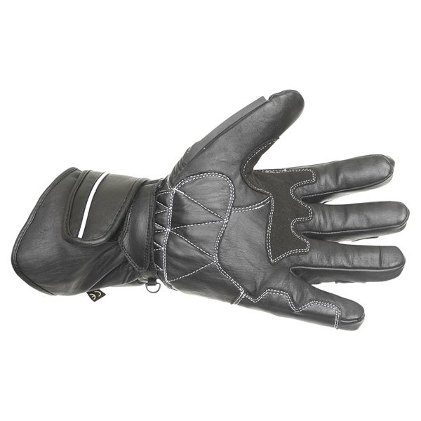 BKS 26 Cat 2 Black Motorcycle Gloves Palm