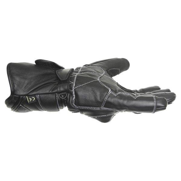 BKS 26 Cat 2 Black Motorcycle Gloves Little finger side