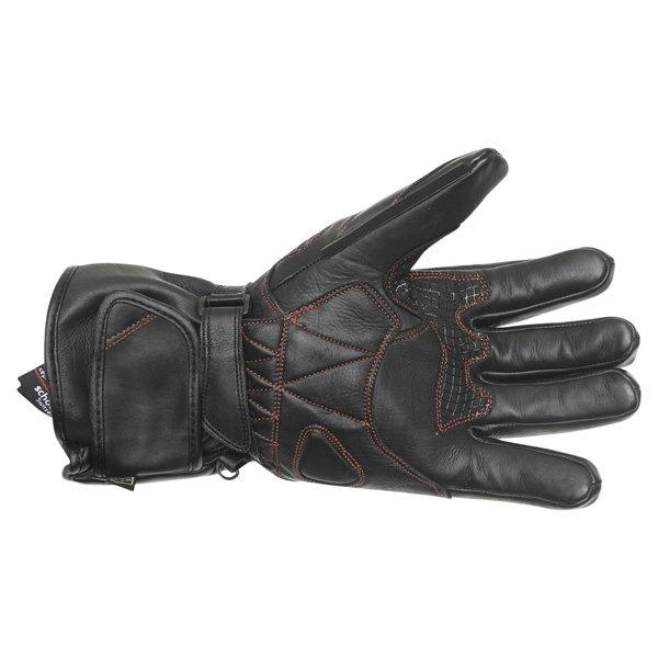 Frank Thomas FT-05 Cat 2 Black Motorcycle Gloves Palm
