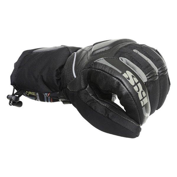 IXS Arctic Blaze GoreTex Black Waterproof Motorcycle Gloves Knuckle