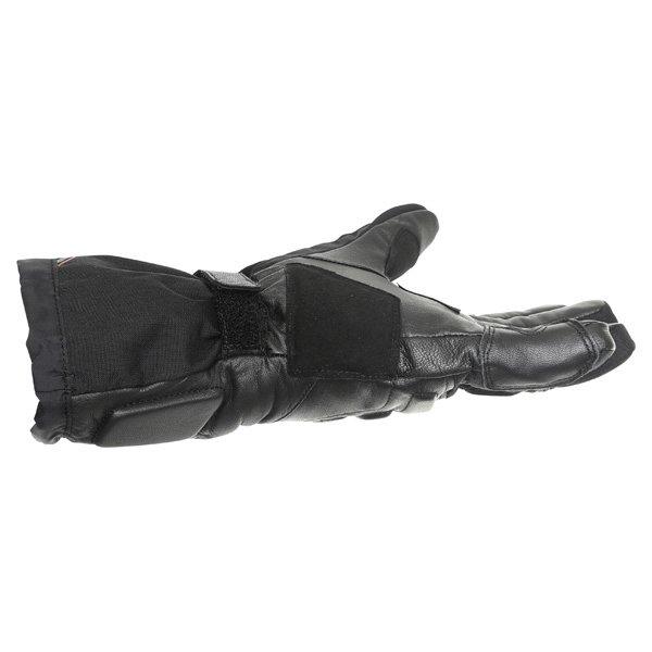 IXS Arctic Blaze GoreTex Black Waterproof Motorcycle Gloves Little finger side