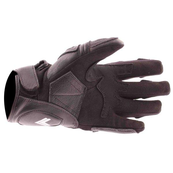 Frank Thomas Monaco Black Motorcycle Gloves Palm