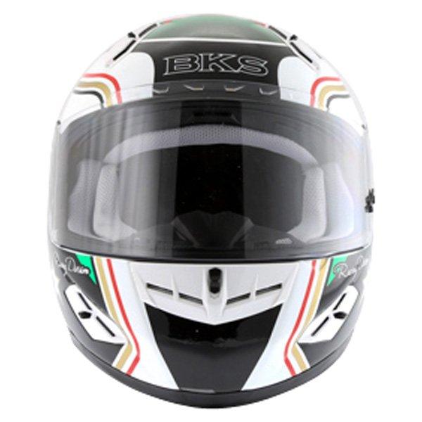 BKS Wales Flag Full Face Motorcycle Helmet Front