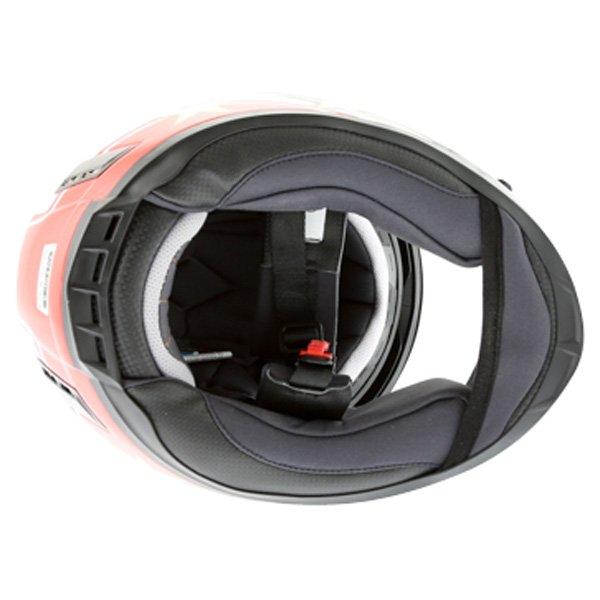 BKS Wales Flag Full Face Motorcycle Helmet Inside