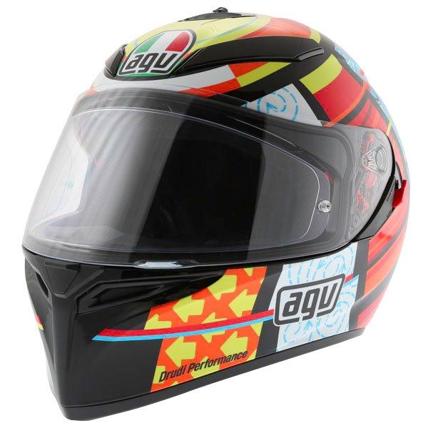 AGV K3 SV Elements Full Face Motorcycle Helmet Front Left