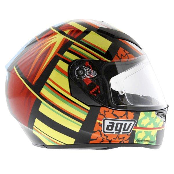 AGV K3 SV Elements Full Face Motorcycle Helmet Right Side