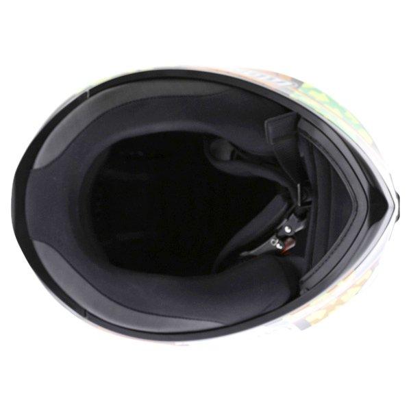 AGV K3 SV Elements Full Face Motorcycle Helmet Inside