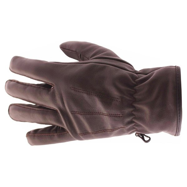 Frank Thomas Con-Dress Brown Motorcycle Gloves Back