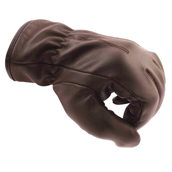 Frank Thomas Con-Dress Brown Motorcycle Gloves Knuckle