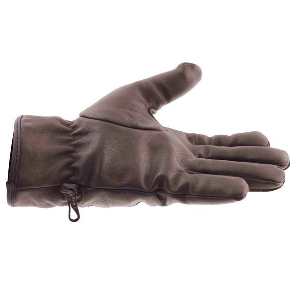 Frank Thomas Con-Dress Brown Motorcycle Gloves Little finger side