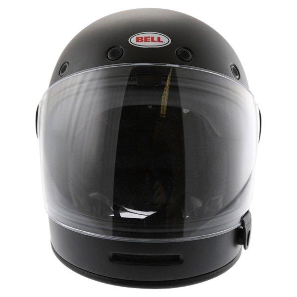 Bell Bullit Matt Black Full Face Motorcycle Helmet Front