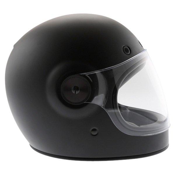 Bell Bullit Matt Black Full Face Motorcycle Helmet Right Side